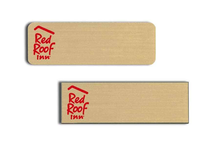 Red Roof Inn name badges