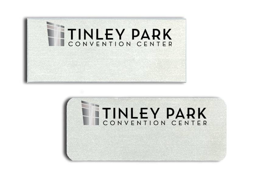Tinley Park Convention Center name badges