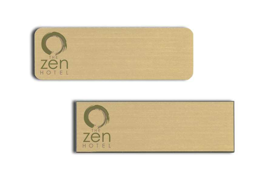 Zen Hotel name badges