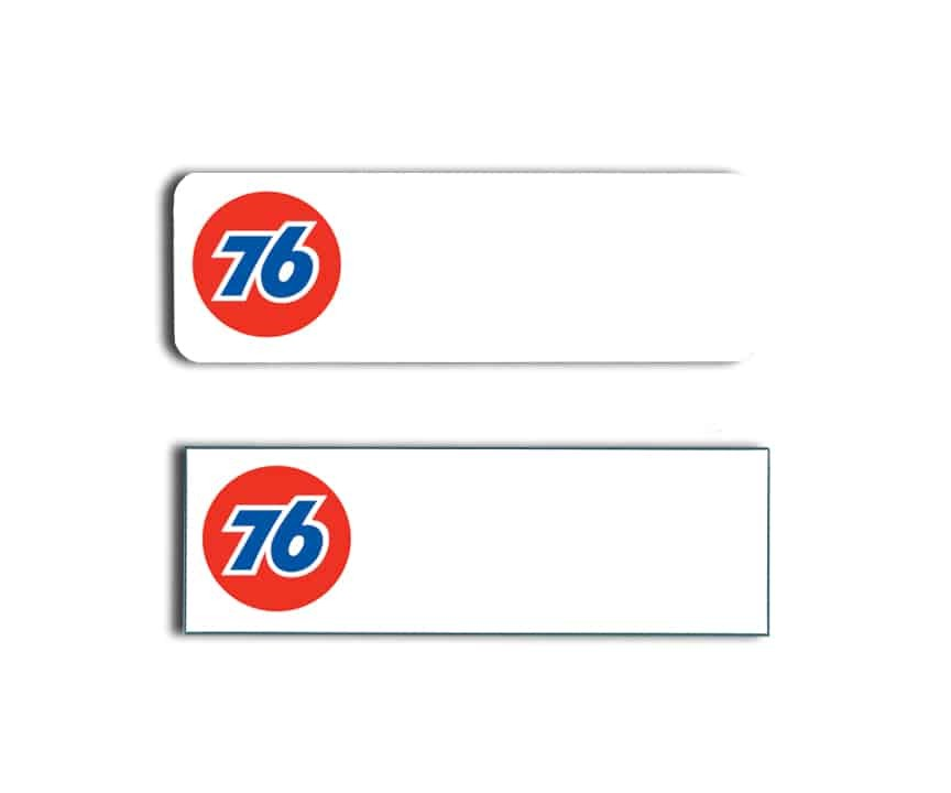 Seventy Six Station name badges