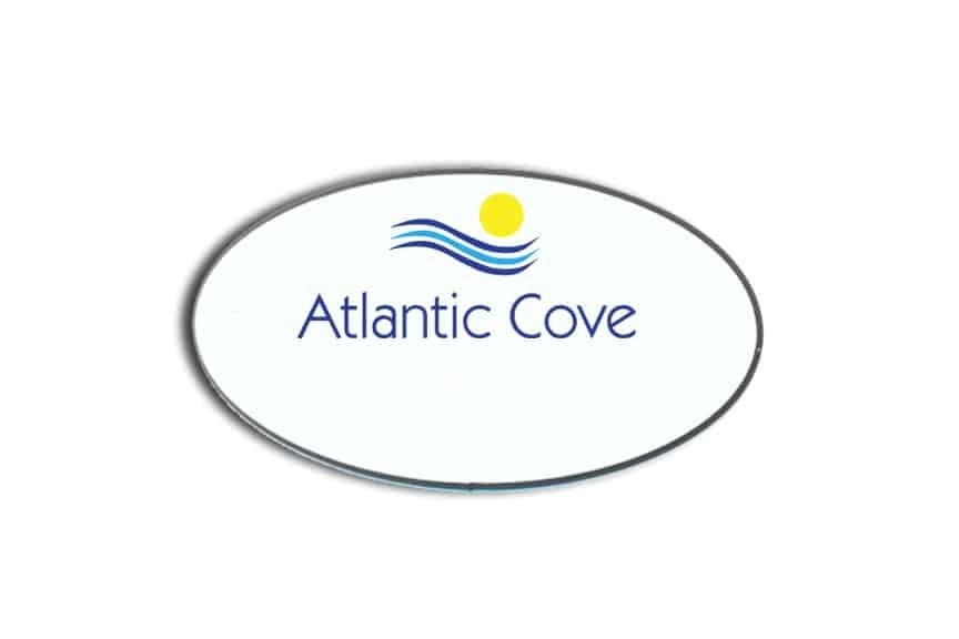 Atlantic Cove name badges tags