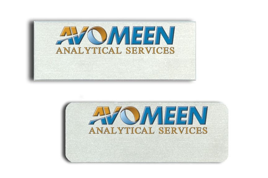 Avomeen Name Badges
