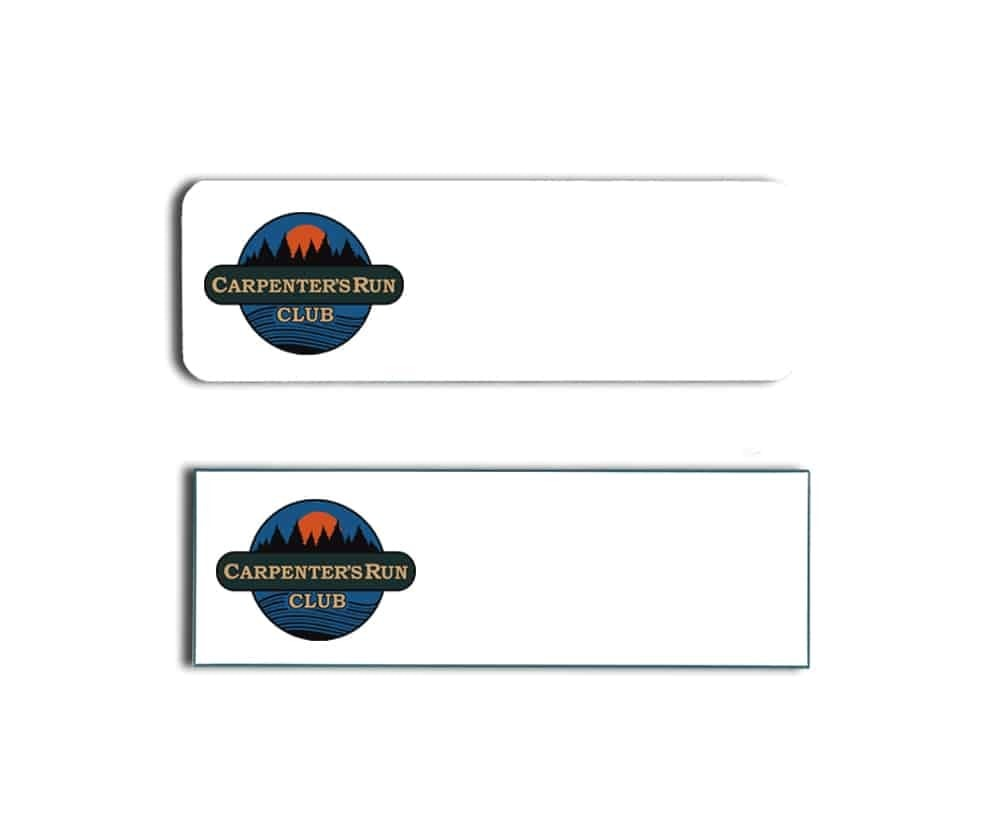 Carpenters Run Club Name Badges
