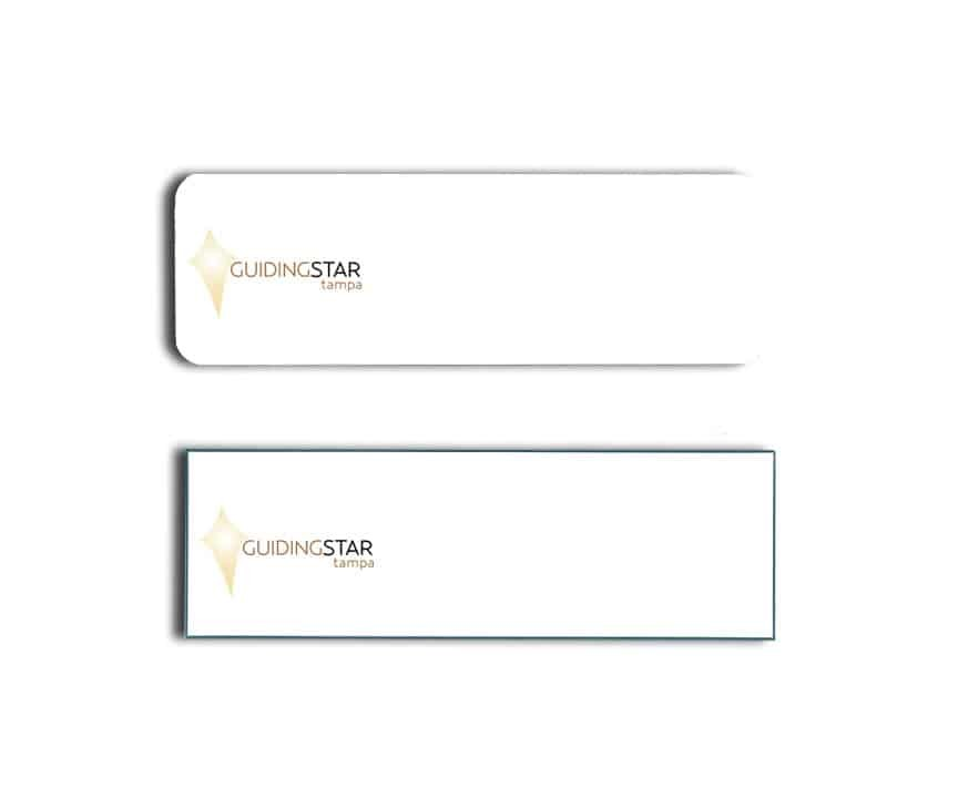 Guiding Star Tampa Name Badges