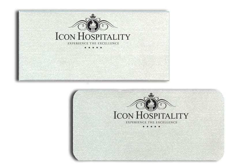 Icon Hospitality Name Badges