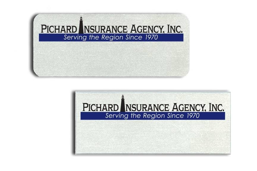Pichard Insurance Agency Name Badges