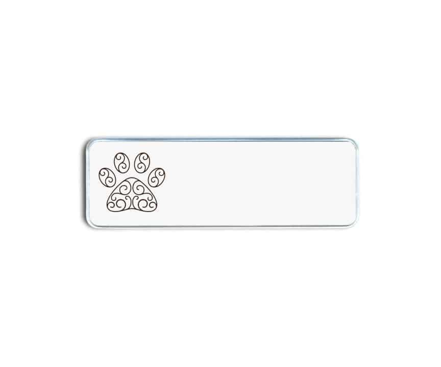 Pleasant Paw Vet Name Badges