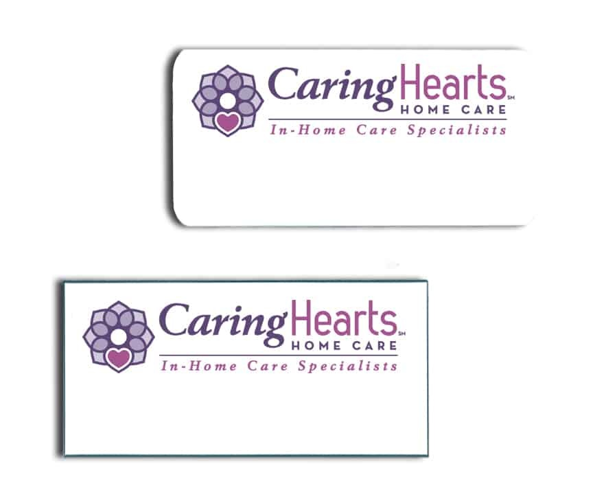 Caring Hearts Name Badges