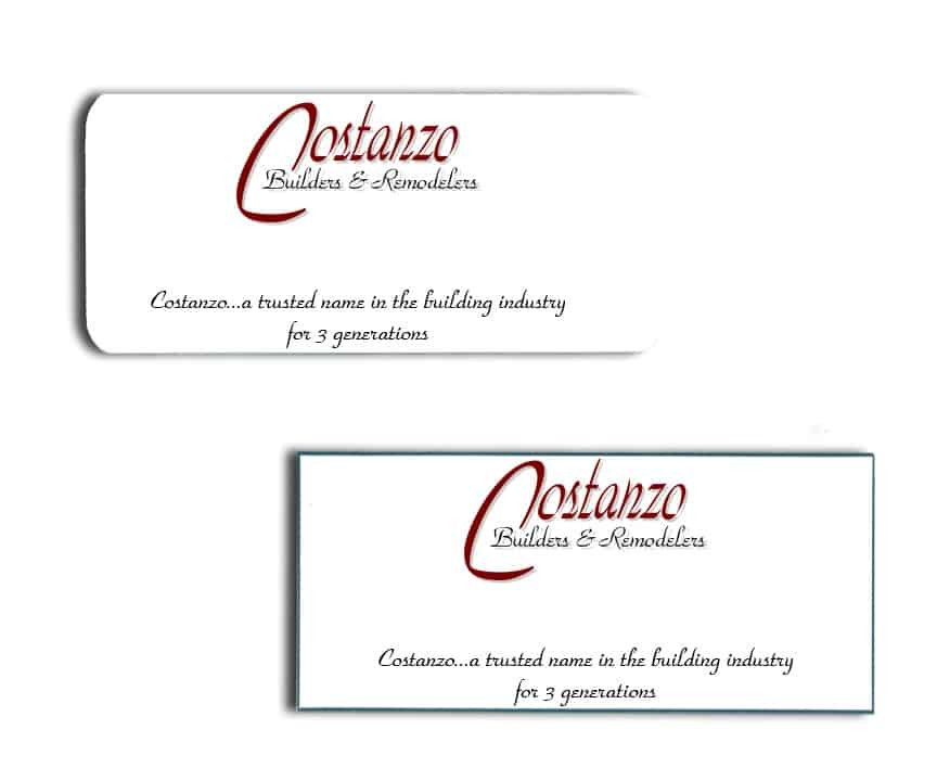 Costanzo name badges
