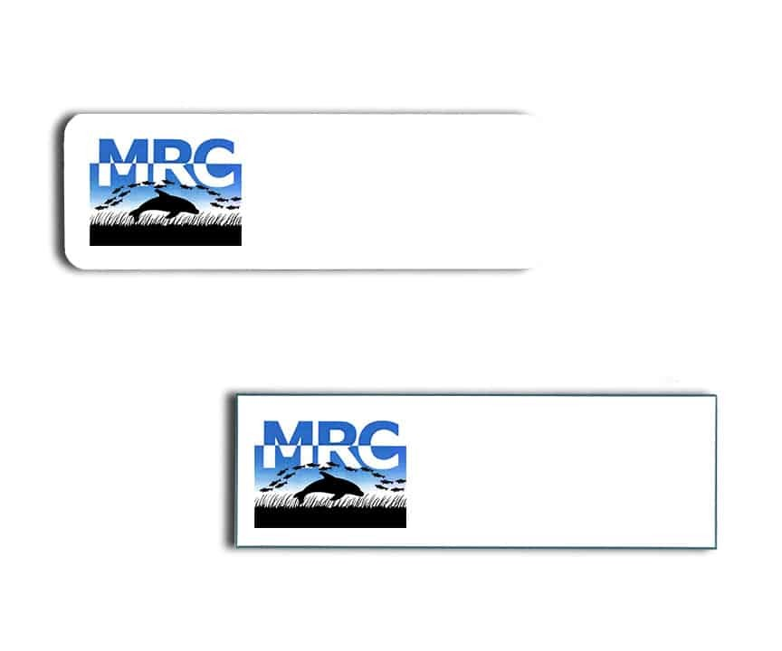 Marine Research Center name badges