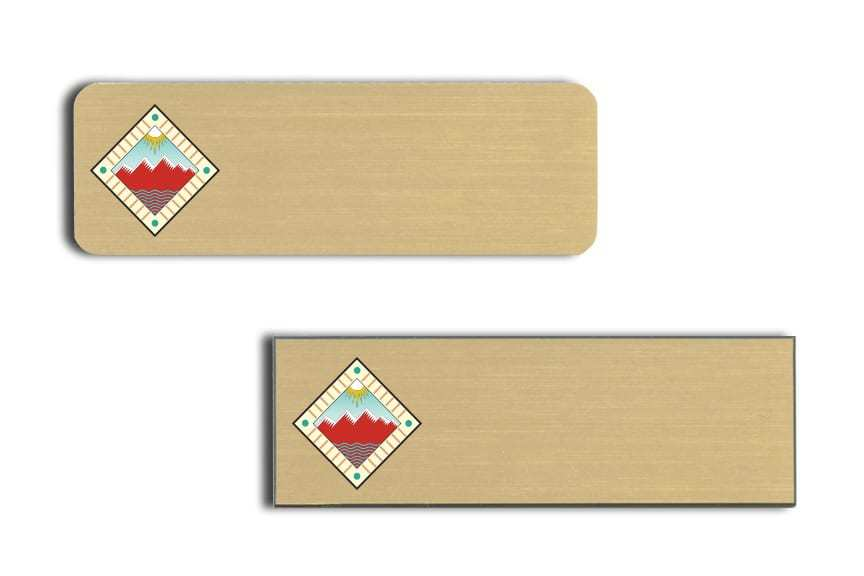 Sierra Grande Lodge name badges