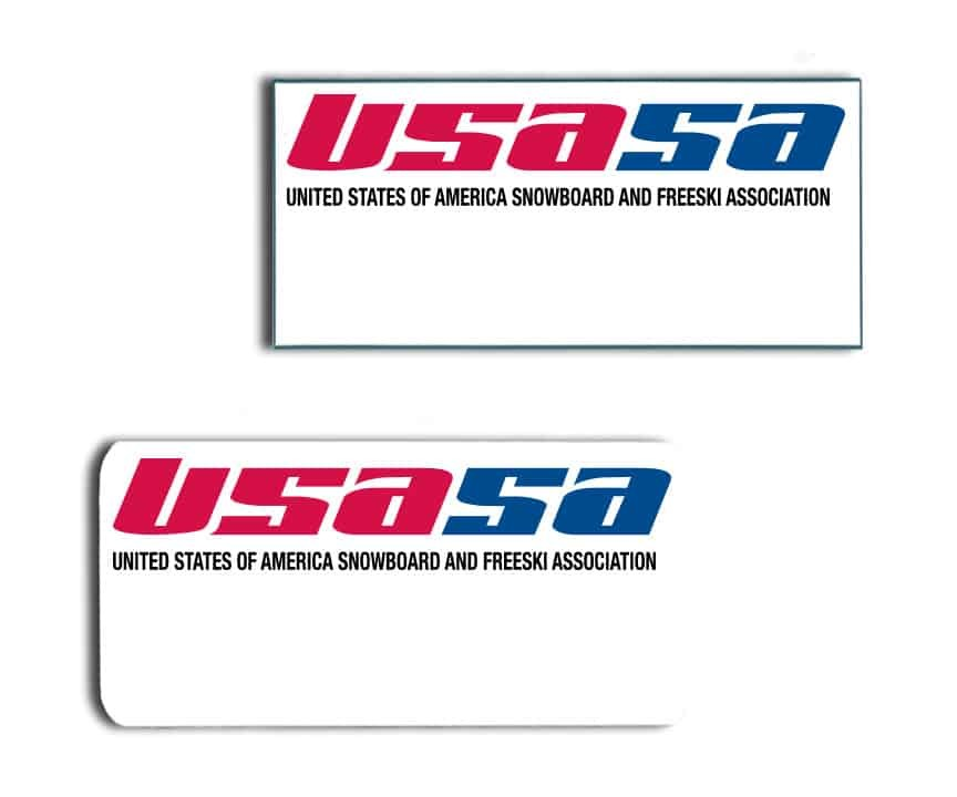 Usasa name badges