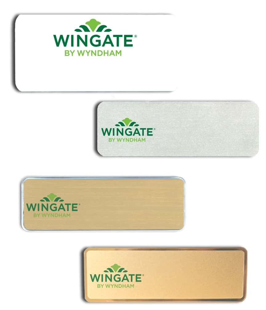 Wingate by Wyndham name badges