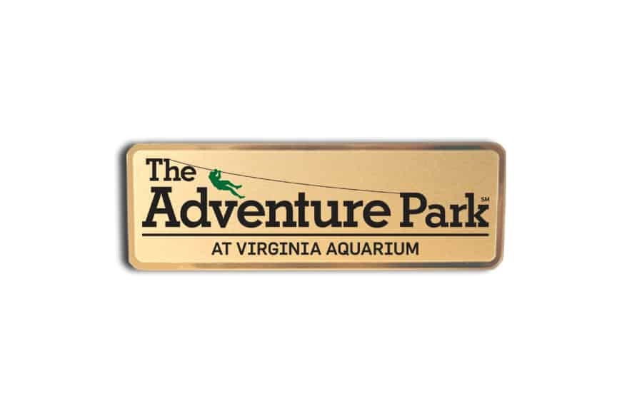 Adventure Park Name Badges