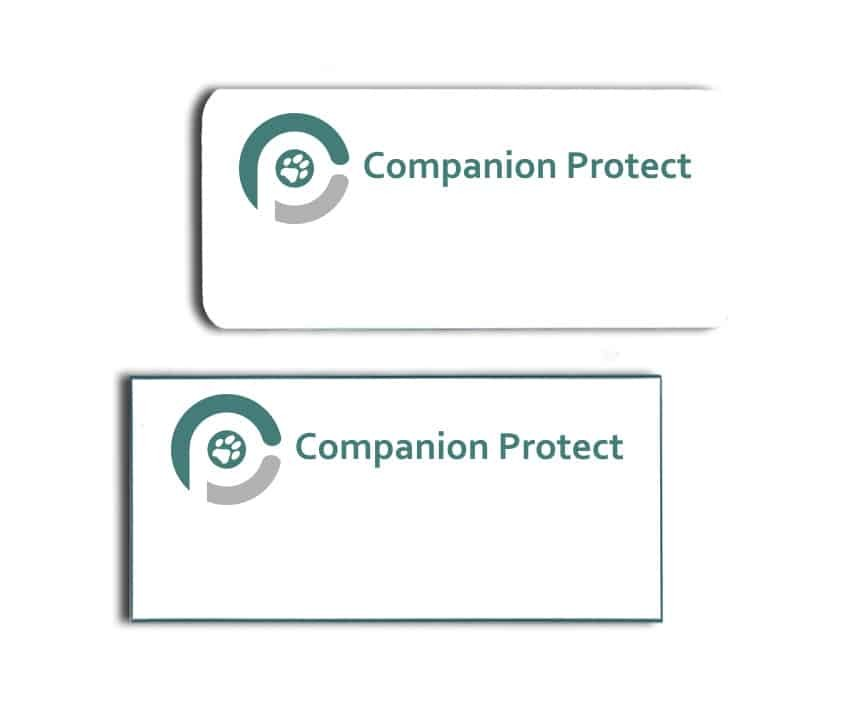 Companion Protect Name Badges