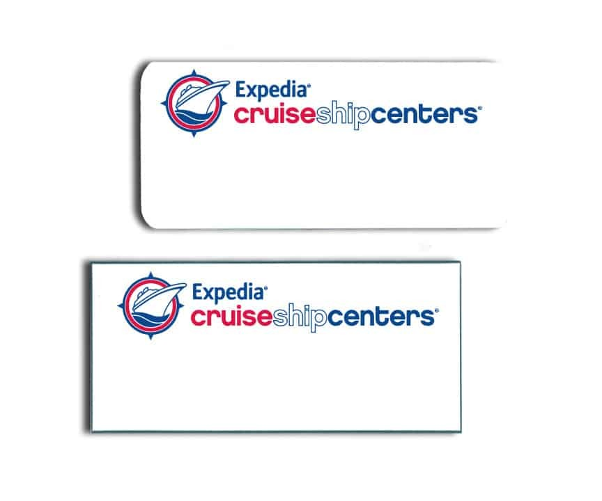 Expedia Cruise Centers Name Badges