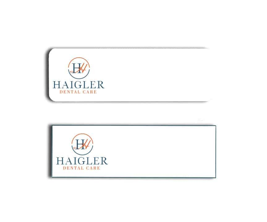 Haigler Dental Name Badges