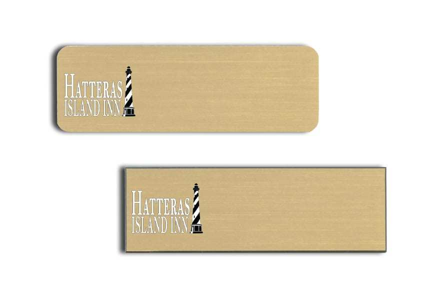 Hatteras Island Inn Name Badges