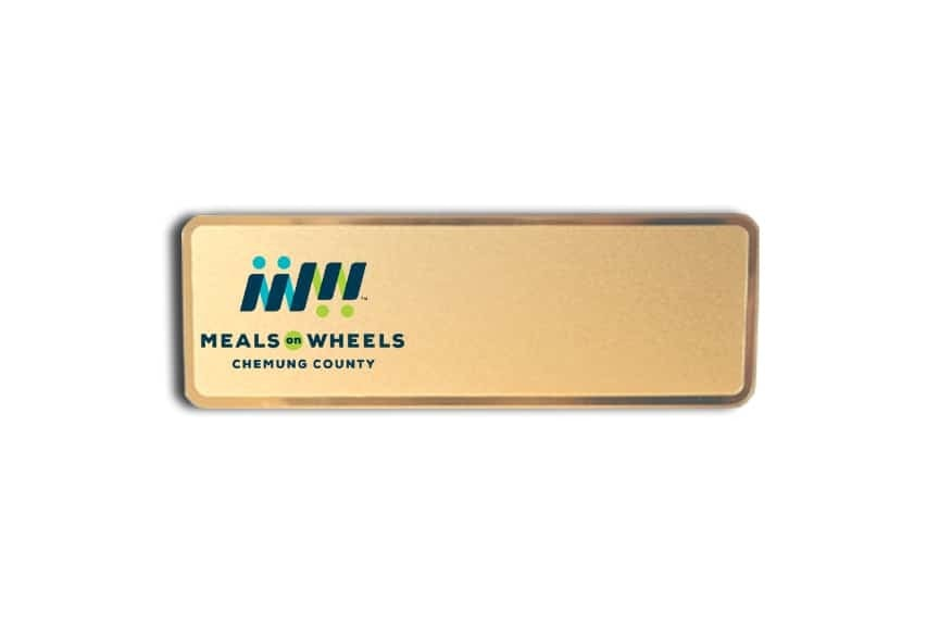 Meals On Wheels Name Badges