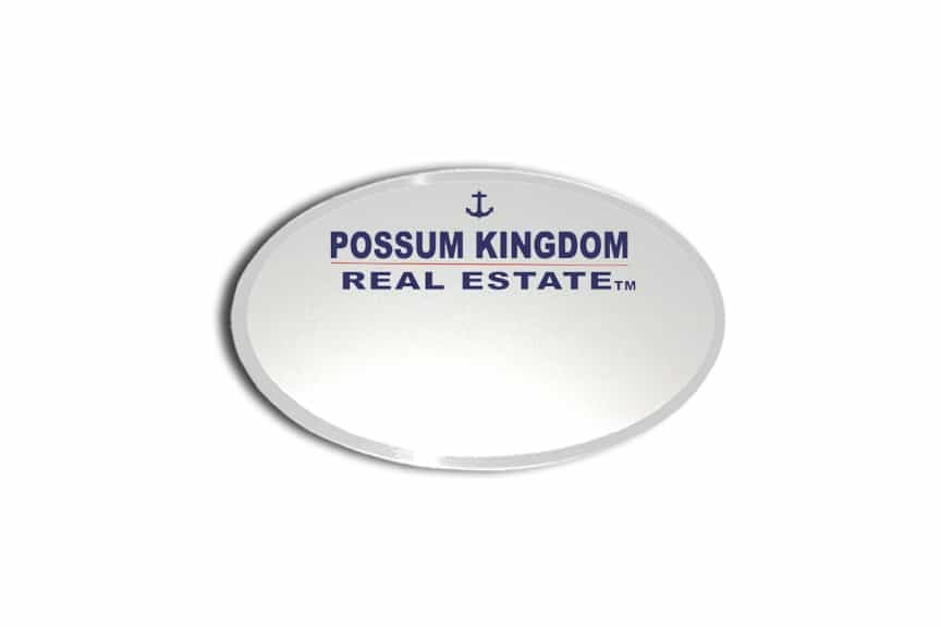 Possum Kingdom Name Badges