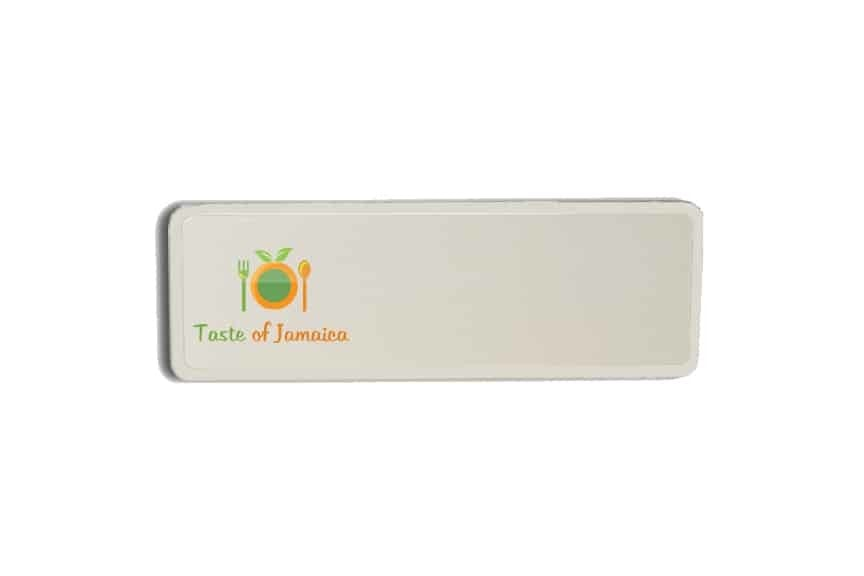 Taste of Jamaica Name Badges