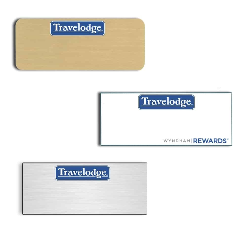 Travelodge Name Badges