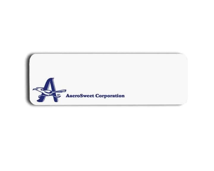 AaeroSweet Corporation Name Badges