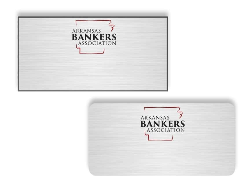 Arkansas Bankers Association Name Badges