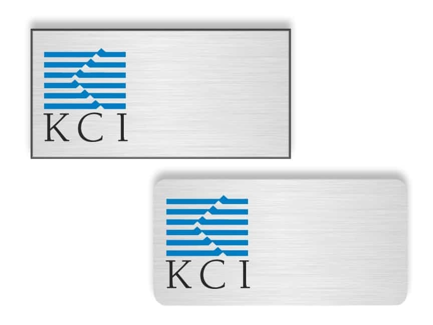 KCI Technologies Name Badges