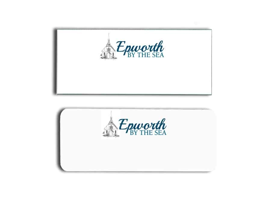 Epworth by the sea name badges