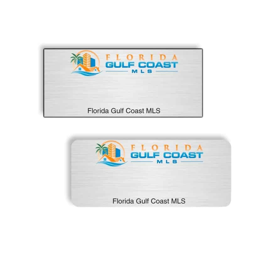 Florida Gulf Coast MLS name badges