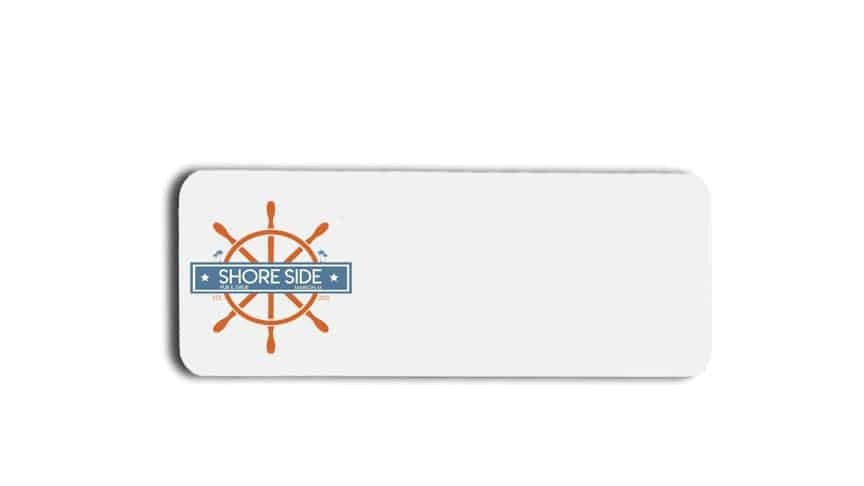 Shore Side Pub and Grub name badges tags