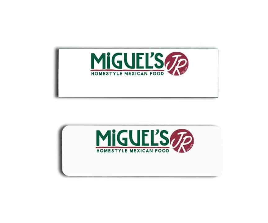 miguels jr name badges tags